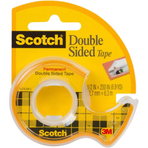 3M Scotch Double Sided Tape $2.99