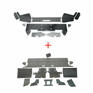 DIY Front amp; Rear Bumper Kit Bare Metal For 1984 2001 Jeep Cherokee XJ New $284.90
