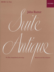 Suite Antique for Flute and Piano Originally for Flute Harpsichord and String