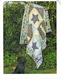 Dogs Rule Quilt Kit by Fons and Porter Finished Size 64quot; x 79quot; $75.00