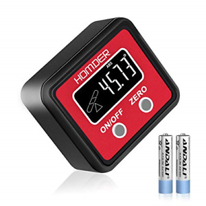 Digital Angle Gauge Level Box Angle Finder Digital Protractor TableSaw with for $26.58