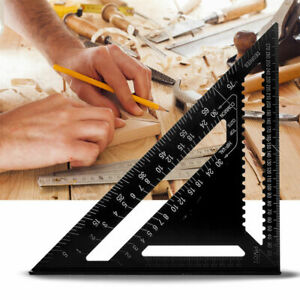 12quot; Triangle Right Angle Ruler for Woodworking Speed Angle Square Protractor $28.99