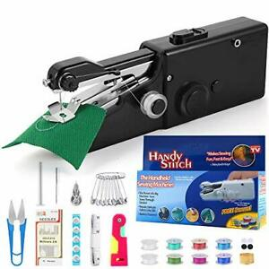 Portable Sewing Machine Mini Sewing Professional Cordless Sewing Black $28.47