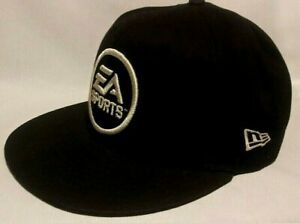 E A SPORTS ITS ALL IN THE GAME FLATBILL SNAPBACK HAT MENS M L MADE BY NEW ERA $26.00