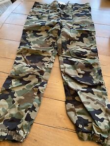 Nili Lotan Camo French Military Cotton Twill Pants Size 6 Pre Owned $99.00
