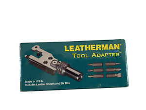 Leatherman Tool Adapter And Sheath. *NEW IN FACTORY BOX * RARE Circa 1997