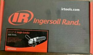 Ingersoll Rand 3445MAX 4 1 2quot; Air Angle Grinder Brand new in the box 3445 MAX $175.00