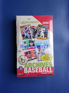 Factory Sealed 2020 Topps Archives Hobby Box $204.95