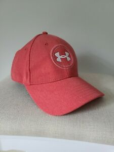 Under Armour Golf Hat M L Red Embroidered Logo Unused $20.00