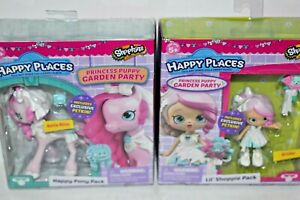 SHOPKINS HAPPY PLACES GARDEN PARTY BRIDIE AND BELLA BLISS NRFB