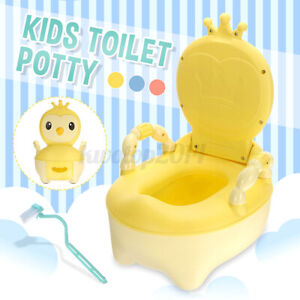 Toddler Toilet Potty Training Mini Toilet Shaped Trainer Safety Kids Seat Chair $38.82