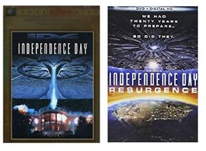 INDEPENDENCE DAY 1 ONE 2 TWO RESURGENCE DIGITAL HD DVD NEW $5.99