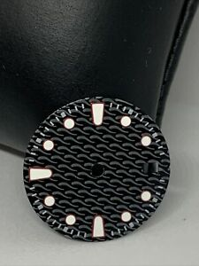 black dial 28.5mm Fit For Seiko NH35 2813 8215 2836 MOD B19