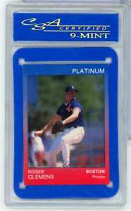 1991 STAR PROMO ROGER CLEMENS CSA CERTIFIED MINT 9 1 OF 200 RB5825 $18.74