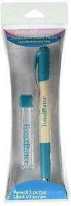 Fons amp; Porter 7757 Mechanical Fabric Pencil Set and 10 Lead Refills White $15.99