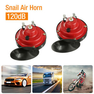 2x 12V 300DB Super Loud Train Horn Waterproof for Motorcycle Car Truck SUV Boat $13.59