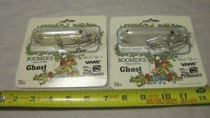 Boomer#x27;s Clear Ghost Topwater Lures New B4