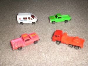 LOT OF 4 SMALL CARS ASSORTED