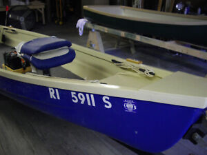 Custom Made One Man Bass Fishing Boat New Gas And Electric Motors