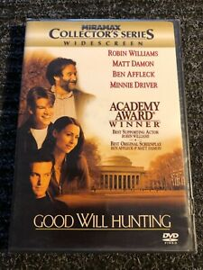 Good Will Hunting DVD widescreen ...............NEW amp; FACTORY SEALED