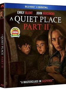 A QUIET PLACE PART 2 BLU RAYDIGITAL W SLIPCOVER NEW PRE ORDER SHIPS 7 27 2021 $19.99