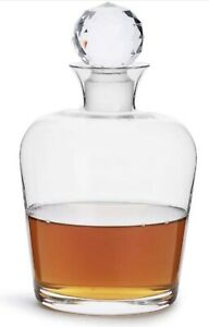 Sagaform Club Beverage Whiskey Carafe with Crystal Stopper 27 Ounce