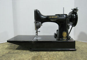 Vintage Singer Model 221 Featherweight Portable Sewing Machine Tested amp; Working $379.99