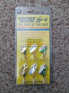 Panther Martin DSG6 Best of the Best Fishing Lure Kit 6 Pack
