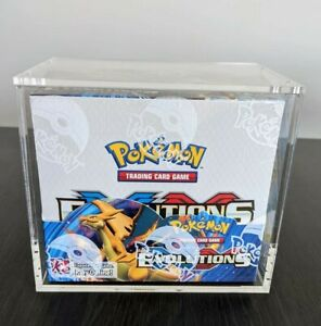 High Quality Pokemon Booster Box Magnetic Acrylic Case Custom Fit Case Only $31.99
