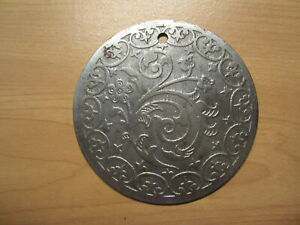 Antique Singer 27 Treadle Sewing Machine Rear Cover Plate amp; Screw $11.98