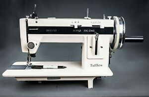Tuffsew Zigzag 9 quot; industrial walking foot sewing machine with monster wheel $699.00