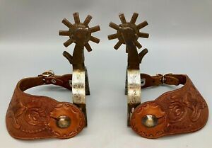 Great Pair of Older Canyon City Prison Made Spurs