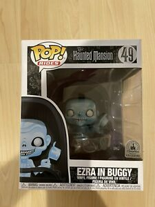 New 6quot; FUNKO POP THE HAUNTED MANSION: EZRA IN BUGGY #49 DISNEY PARKS EXCLUSIVE