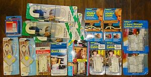 NEW Safety 1st Years Cabinet Drawer Locks Latches Baby Child Safety Lot $19.99
