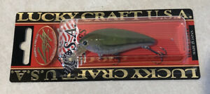 LUCKY CRAFT CB 100 MOONSAULT OLIVE GREEN PEARL BASS CRANK PLUG LURE JAPAN NEW