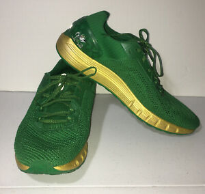 Under Armour Shoes Hovr Sonic 2 Notre Dame #122 TEAM ISSUED 3022644 300 Size 14 $78.00