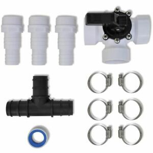 Bypass Kit for Solar Pool Heater Set Heating System Spa Accessories Replacement