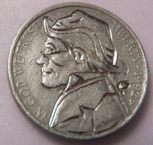HAND CARVED CLASSY HOBO COIN quot; ..Lefty Wright ..quot; $13.56