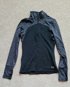 Under Armour Cold Gear 1 2 Zip Up Fitted Activewear Pullover XS $18.00