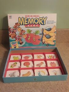 Original Memory Game COMPLETE 2001 my first games by Hasbro Milton Bradley $19.95