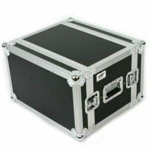 OSP 6 Space ATA Shock Mount Effects 14quot; Deep Rack Road Case