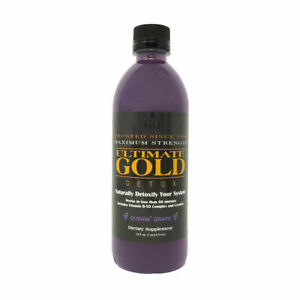 ULTIMATE GOLD DETOX DRINK 16OZ Works in One Hour GRAPE $18.99