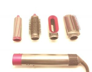 Dyson HS01 Airwrap Hair Styler Nickel Fuschia with 4 Accessories IL RT6 1... $299.99