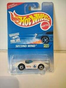 Vintage Hot Wheels Collector#527 Second Wind From 1996 $8.99