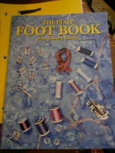 Pfaff Multifunctional Kit 32 32 different sewing feet in the set and book $25.00
