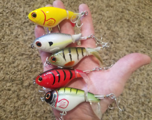 5 Pack Top Water Lures