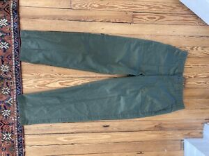 Vintage ARMY OG 507 Fatigues Trousers Pants Sateen OD Green Men's 36 x 33. $40.00