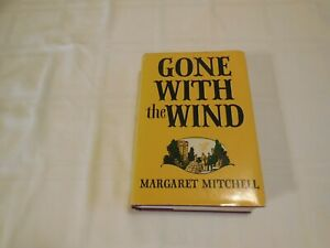 Gone With The Wind by Margaret Mitchell. 1964. Confederate Flag on Spine.