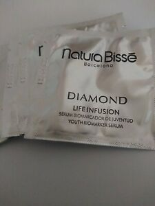 10x Natura Bisse Diamond Life Infusion Face Serum Packets $60.00