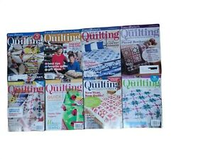 Lot of 8 Fons amp; Porter#x27;s Love of Quilting Years 2006 2008 09 2013 14 2016 $12.99